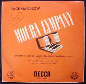 Rachmaninov, Moura Lympany, Anthony Collins , New Symphony Orchestra Of London - Third Piano Concerto