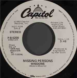 Missing Persons - Windows