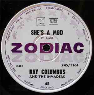 Ray Columbus And The Invaders - She's A Mod