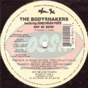 The Body Shakers Featuring Sabrynaah Pope - Keep Me Movin