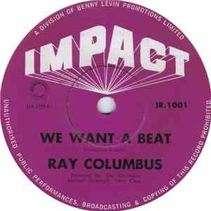 Ray Columbus - We Want A Beat