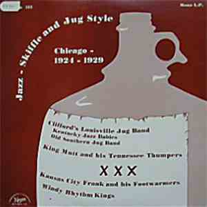 Various - Jazz Skiffle And Jug Style Chicago 1924-1929